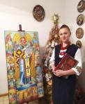 «Святий Миколай з життієм». Представлення авторської ікони Ольги Шевчук